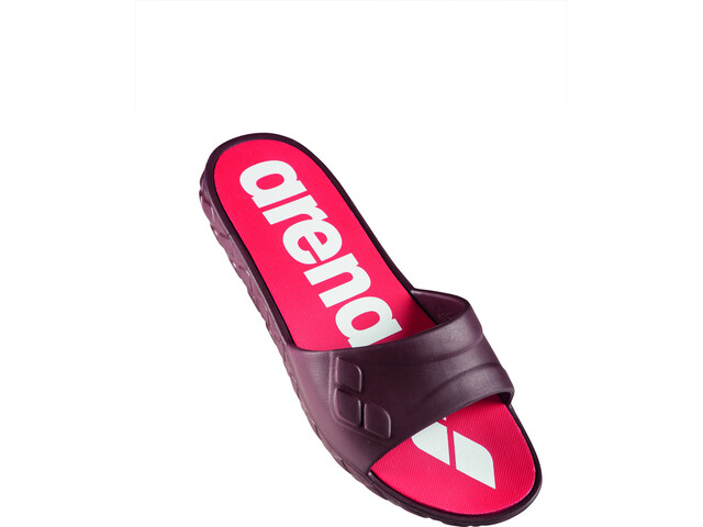 arena Watergrip Sandalen Damen red wine/white